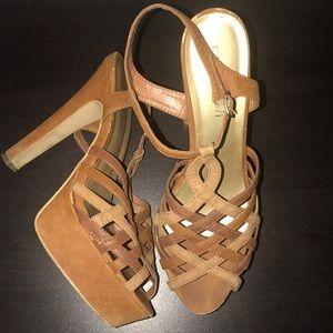 Size 11 Madden Girl platform heels